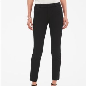 Banana Republic Black Sloan Slim Ankle Pant Size 6